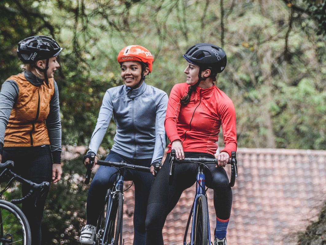 three girls on a bicycle - Exercise, it's not meant to be a punishment-wow
